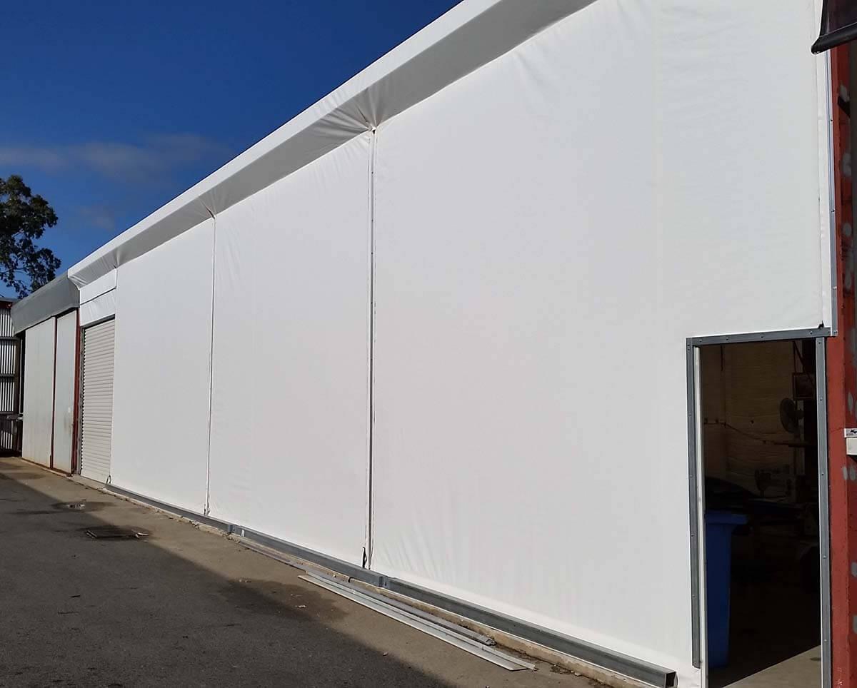 Construction Tarp Shelters : Building construction tarps covers westarp