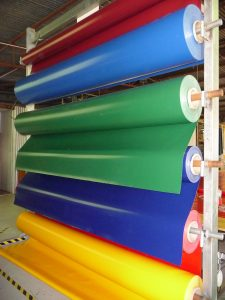 Tarp colour rack