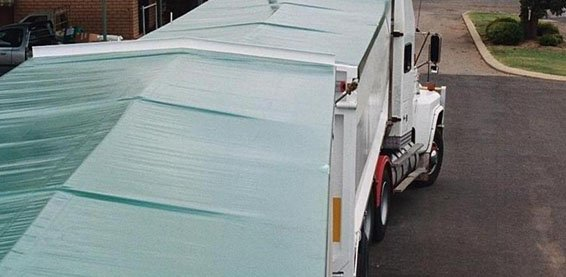 Truck with Tarp - Roll Tarp Kit