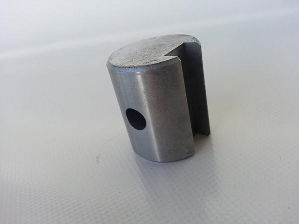 Blank Spigot To Bolt - Aluminium Roller Pipe