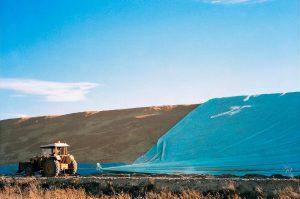 Flat Tarp Grain Bunker Cover 2