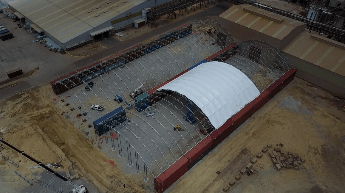 Heavy Duty Shelter Covers – Mining Industry