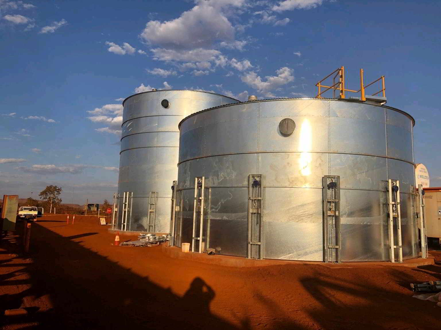 Westarp Tank Liners installed at a Mine Site 1