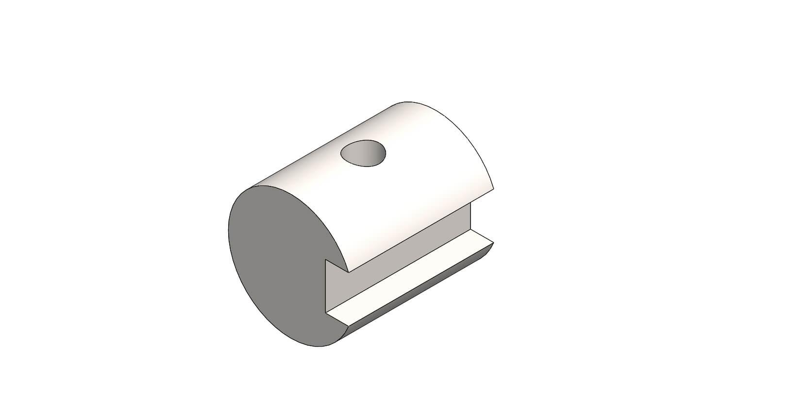 Ali Roller Pipe Plain Spigot