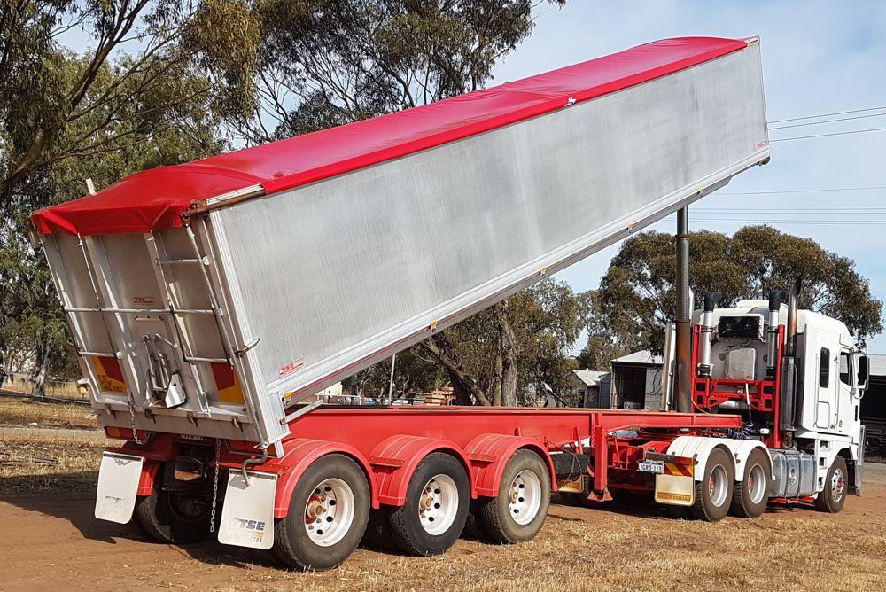 Truck tarp west Australia